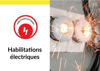 habilitations électriques formation sécurité santé travail